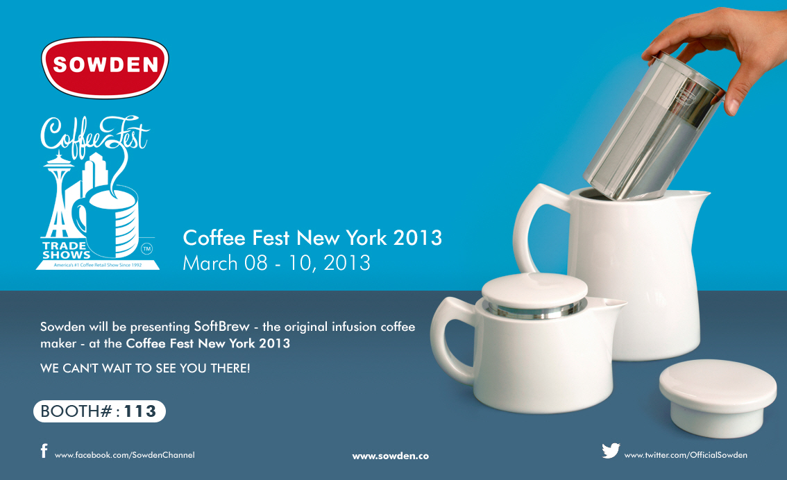 Sowden at Coffee Fest New York