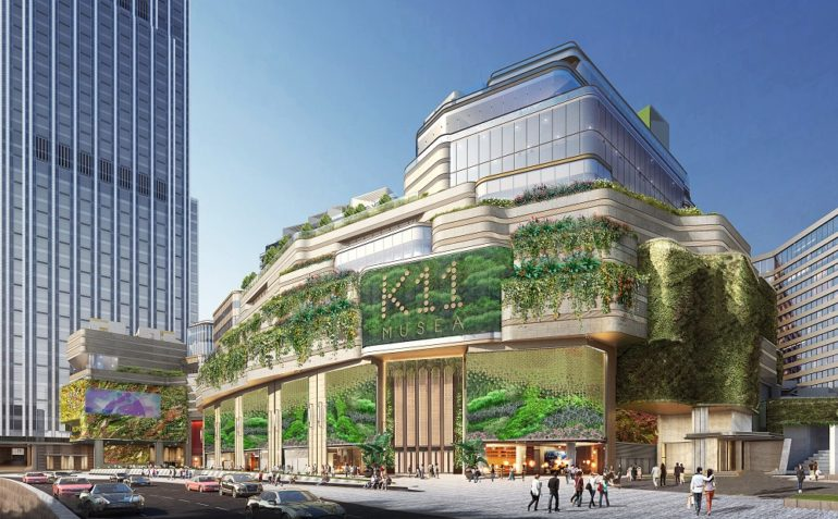 "Retail Property Market : Retail New flagship museum-retail complex ""K11 MUSEA"" opens in HK in Q3 2019"